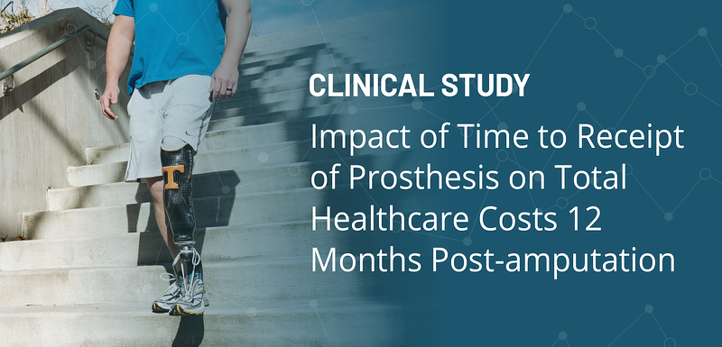 Hanger Study impact of time to receipt of prosthesis on total haelthcare costs 12 months post-amputation-1